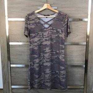 Amaryllis Camo Dress